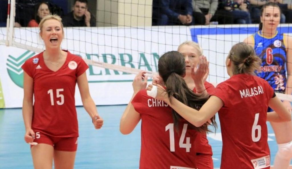 Χρυσά κορίτσια του Ολυμπιακού σε χρυσό σετ!   Pagenews.gr