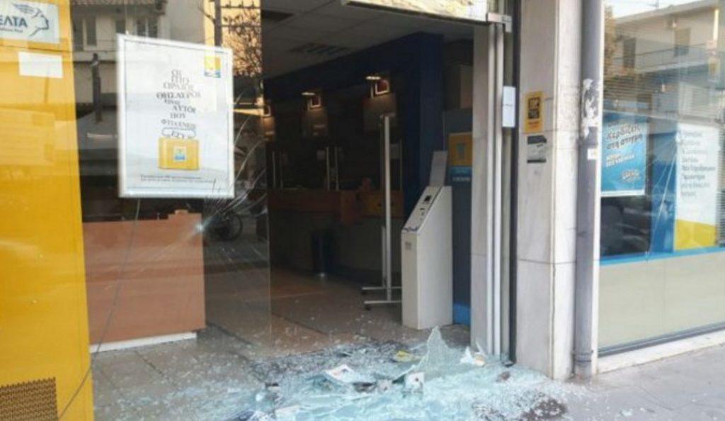 Χανιά: Υλικές ζημιές σε υποκατάστημα των ΕΛΤΑ και σε ΑΤΜ από αντιεξουσιαστές | Pagenews.gr