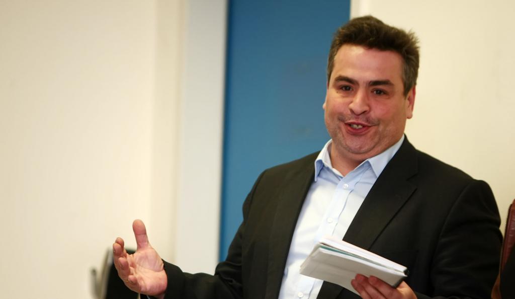 Το σχόλιο του Ανδρέα Δημάτου για τις νέες φανέλες της ΑΕΚ (pic) | Pagenews.gr