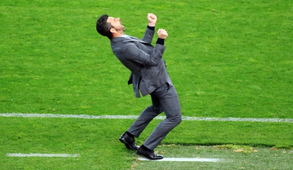 Ο φοβερός πανηγυρισμός του Ουζουνίδη μετά το τρίτο γκολ του Παναθηναϊκού! (vid) | Pagenews.gr