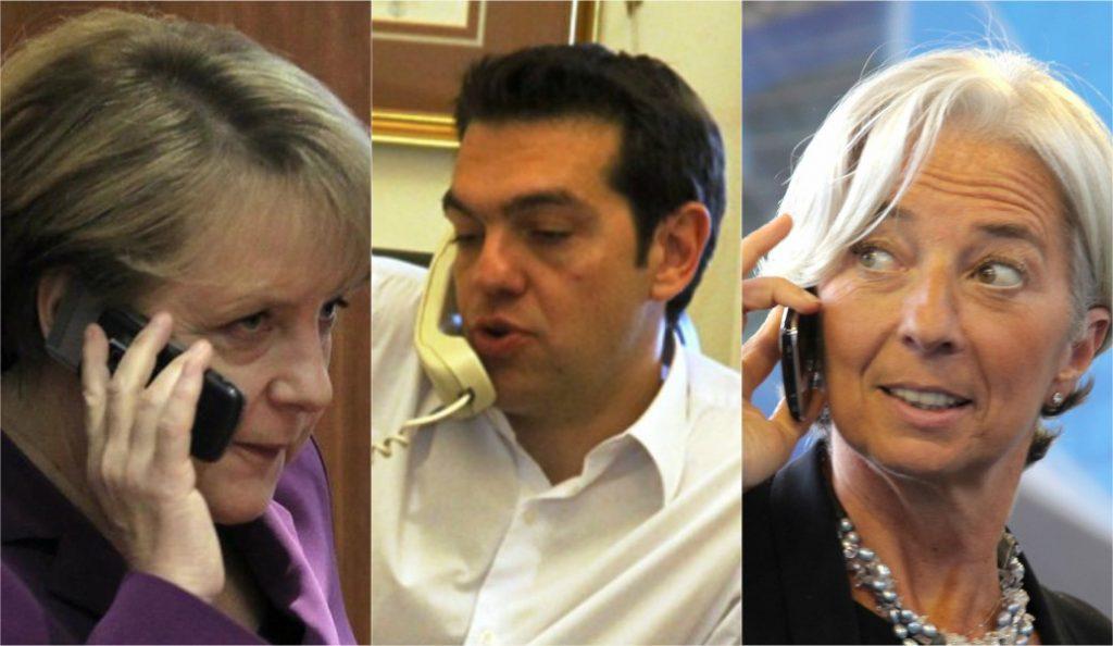 Ο Τσίπρας μίλησε με Μέρκελ και Λαγκάρντ   Pagenews.gr