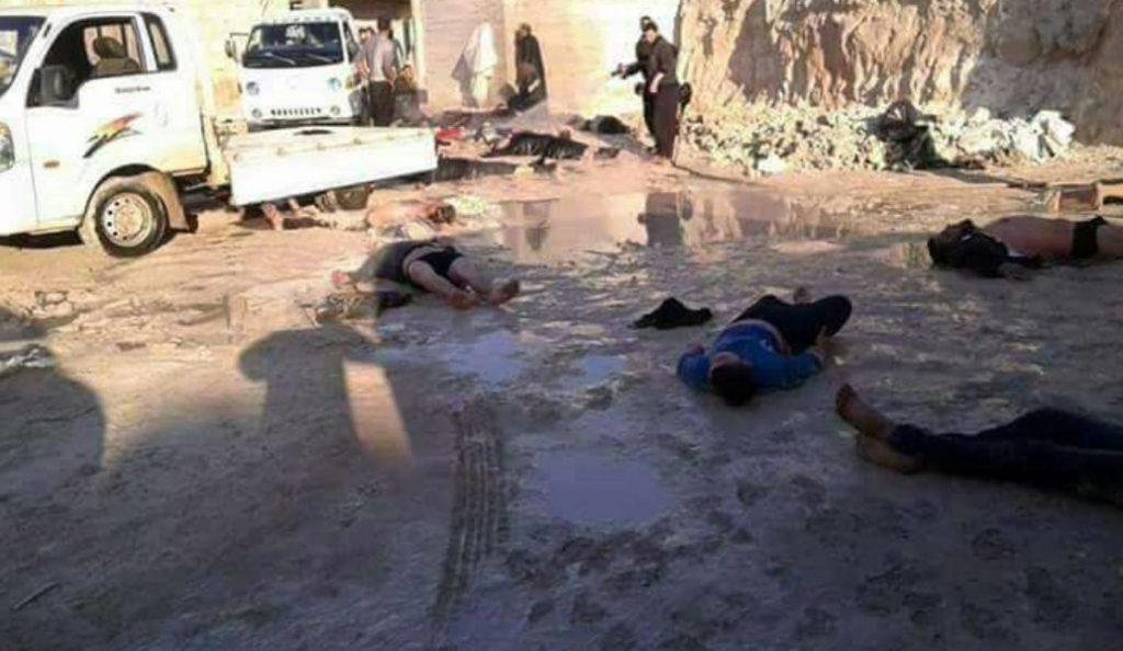 Εικόνες-σοκ: Βομβάρδισαν με χημικά πόλη της Συρίας – Τουλάχιστον 80 νεκροί (pics & vid) | Pagenews.gr