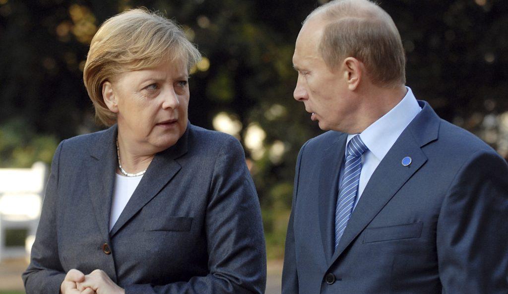 Τηλεφωνική επικοινωνία Πούτιν-Μέρκελ-Ολάντ   Pagenews.gr