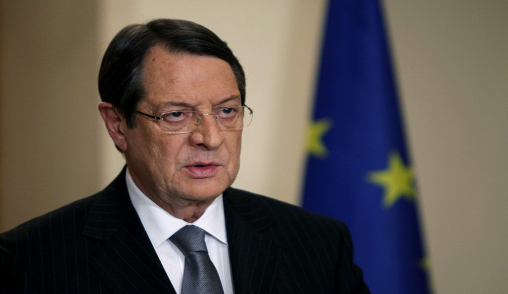 Ικανοποίηση Αναστασιάδη για την επανέναρξη των συνομιλιών στο Κυπριακό | Pagenews.gr