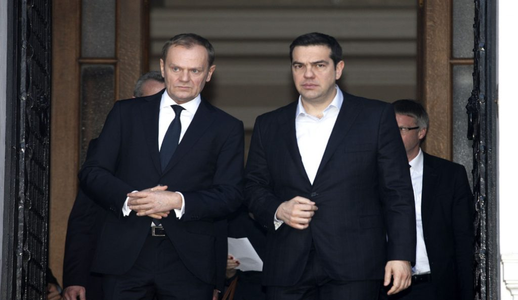 Έκτακτη Σύνοδο Κορυφής αν δεν υπάρξει λύση στο Eurogroup ζήτησε από τον Τουσκ ο Τσίπρας (live)   Pagenews.gr
