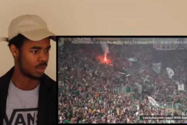 Τρομερό βίντεο: Δείτε πως αντέδρασε ο συγκεκριμένος βλέποντας τη Θύρα 13 στο ΟΑΚΑ! (vid) | Pagenews.gr