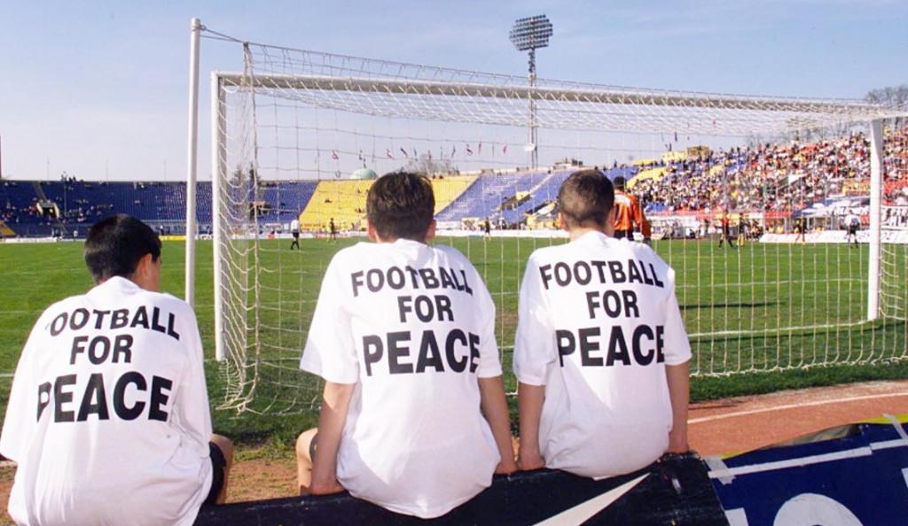 Όταν η ΑΕΚ έγινε σύμβολο παγκόσμιας ειρήνης! (pics & vid) | Pagenews.gr