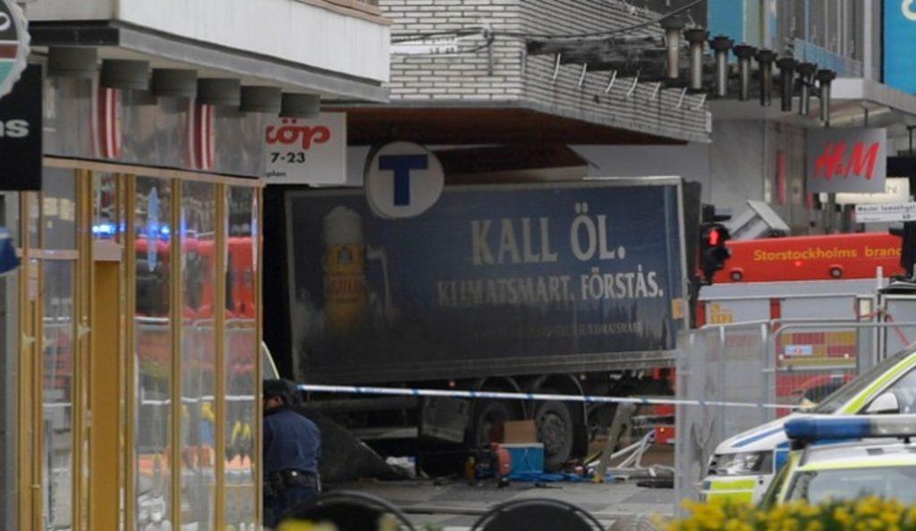 Η στιγμή της επίθεσης στη Στοκχόλμη (vid) | Pagenews.gr