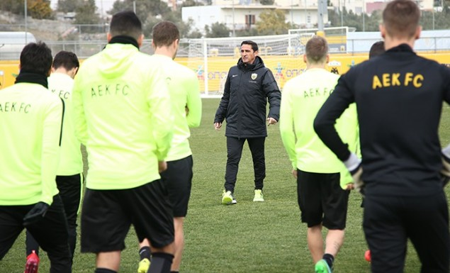 Άρχισε δουλειά για τελικό η ΑΕΚ | Pagenews.gr