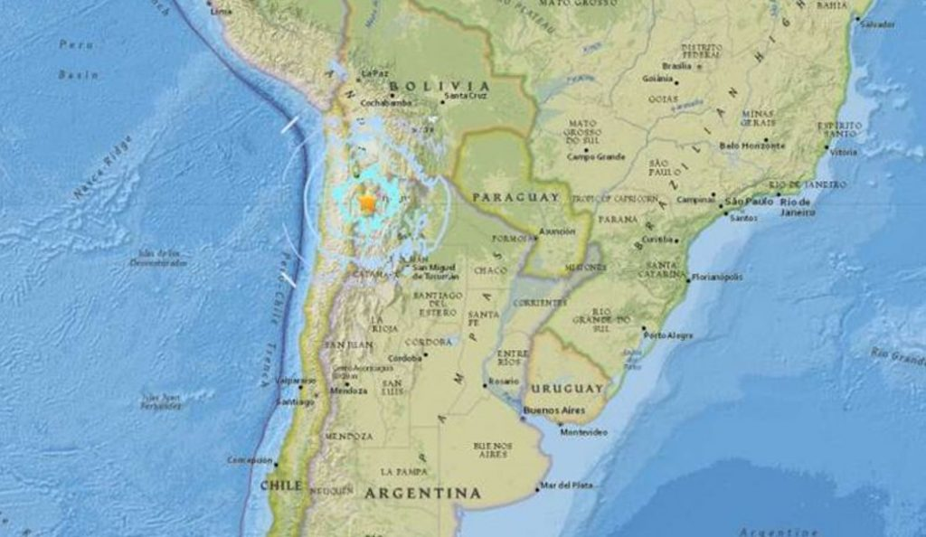 Σεισμός 6,1 Ρίχτερ στη Χιλή | Pagenews.gr