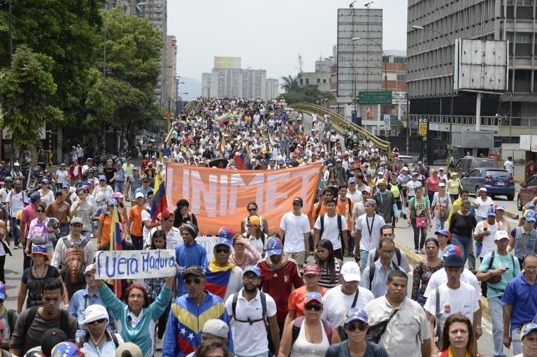 Νέες διαδηλώσεις την Πρωτομαγιά ετοιμάζει η αντιπολίτευση στη Βενεζουέλα | Pagenews.gr