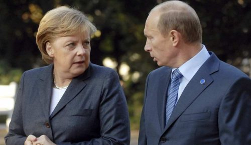 Μέρκελ – Πούτιν: «Καλή θέληση» για συνεργασία στην επίλυση διεθνών διενέξεων | Pagenews.gr