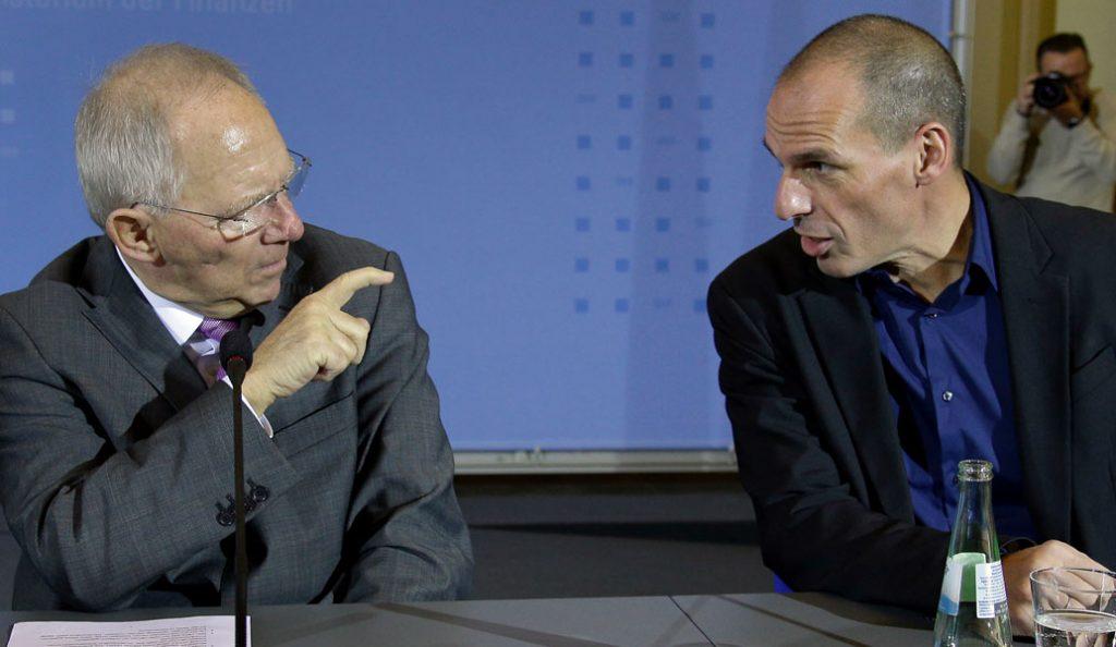 Ο άγνωστος διάλογος Βαρουφάκη-Σόιμπλε για Grexit και δημοψήφισμα   Pagenews.gr