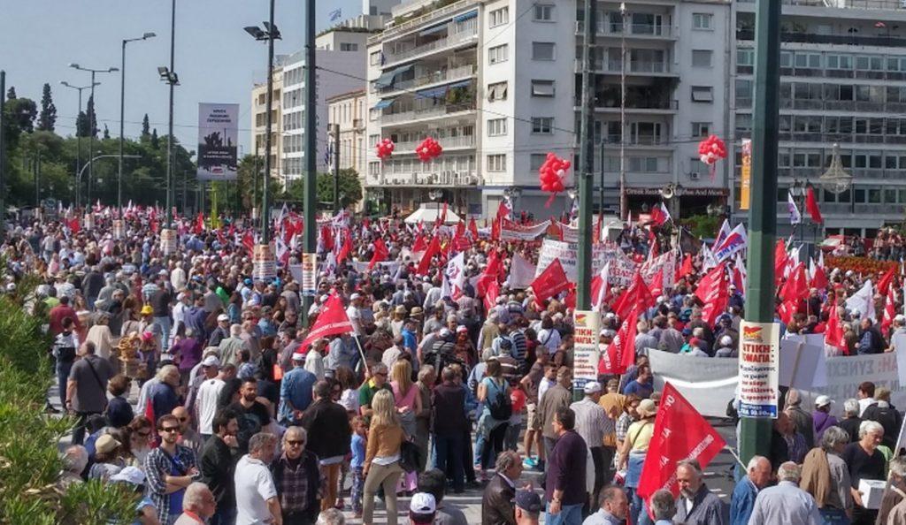 Πρωτομαγιά 2017: «Όχι» στα βάναυσα μέτρα – Όλες οι πορείες (pics) | Pagenews.gr