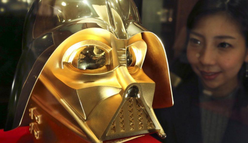 H χρυσή μάσκα του Darth Vader (pics) | Pagenews.gr