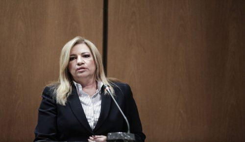 Σκοπιανό: Η Φώφη Γεννηματά αρνητική στη συμφωνία για τη Μακεδονία | Pagenews.gr
