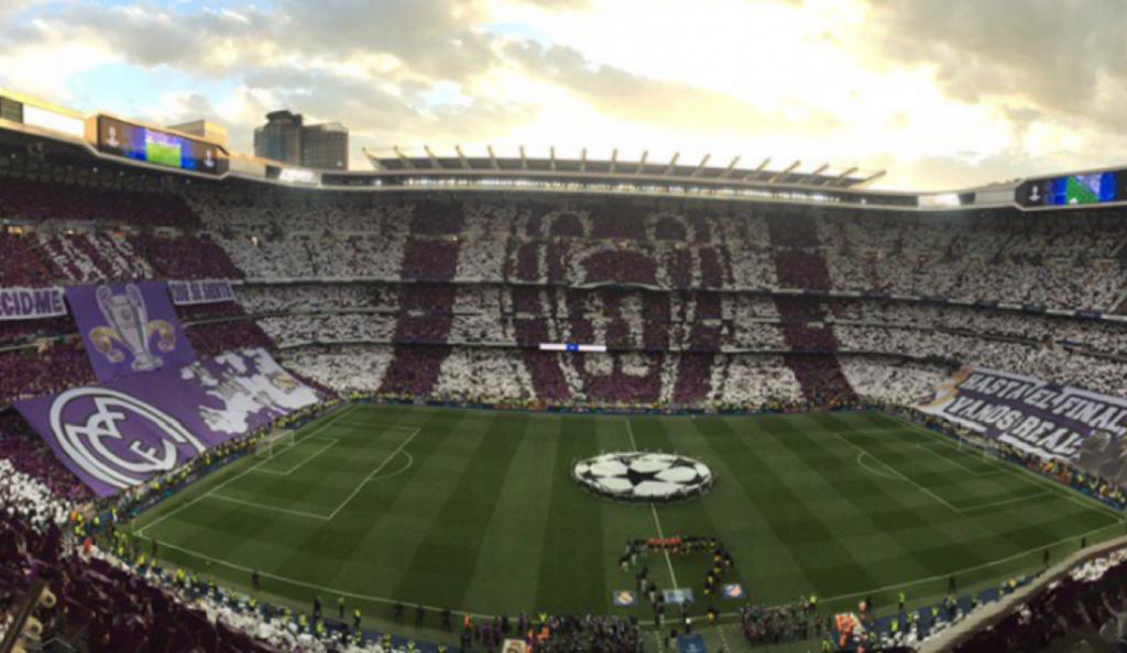 Champions League: Υπέροχο κορεό στο «Μπερναμπέου» (pics)   Pagenews.gr