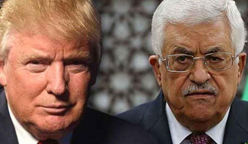 Ο Ντόναλντ Τραμπ υποδέχθηκε τον Μαχμούτ Αμπάς στον Λευκό Οίκο | Pagenews.gr