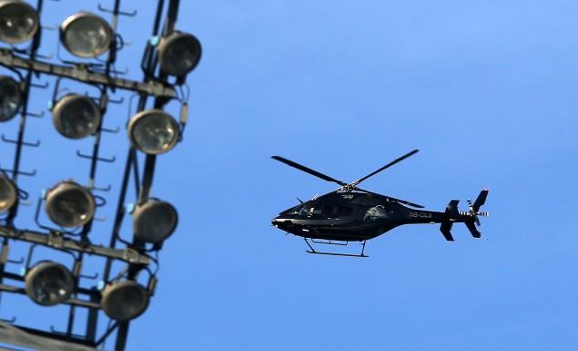 Το ελικόπτερο του Ιβάν Σαββίδη πέταξε πάνω από την προπόνηση του ΠΑΟΚ (pic) | Pagenews.gr