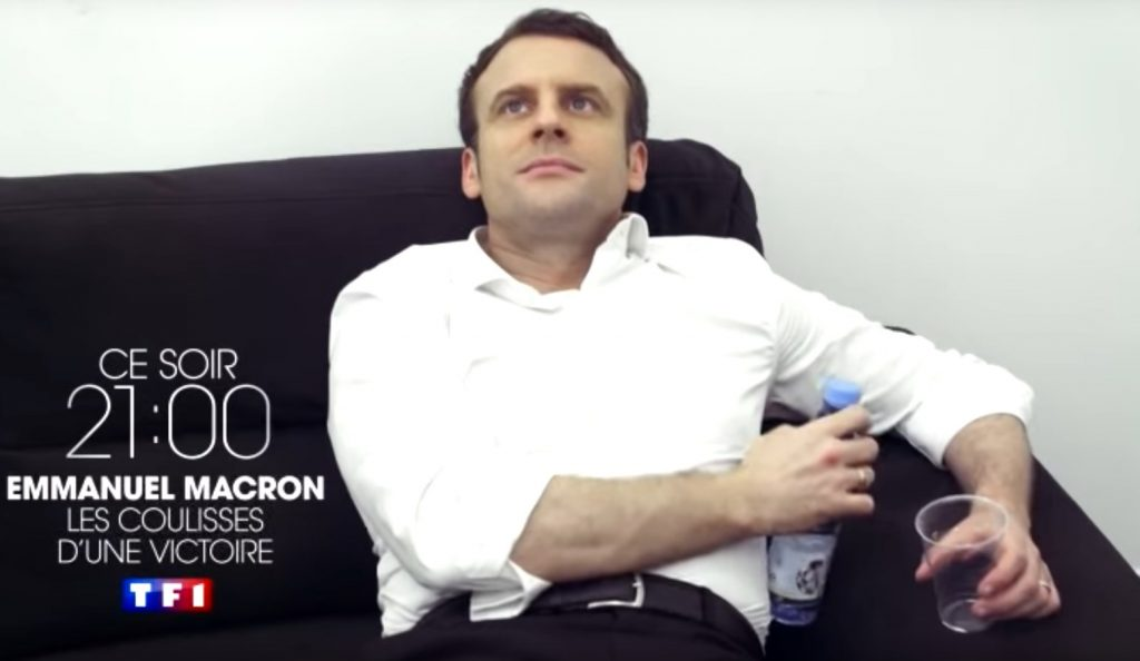 Εμανουέλ Μακρόν η ταινία: 200 μέρες με μια κάμερα στη γραβάτα (vid) | Pagenews.gr