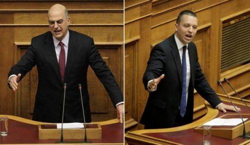 Πολιτική θύελλα μετά τον τραμπουκισμό Κασιδιάρη στον Δένδια (upd)   Pagenews.gr