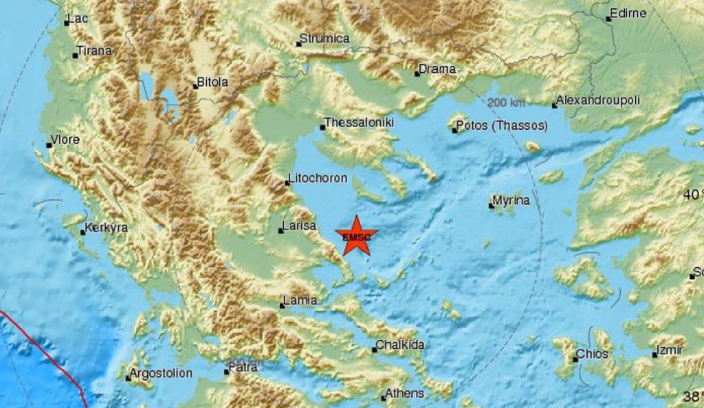 Σεισμός 3,9 Ρίχτερ στον Βόλο | Pagenews.gr