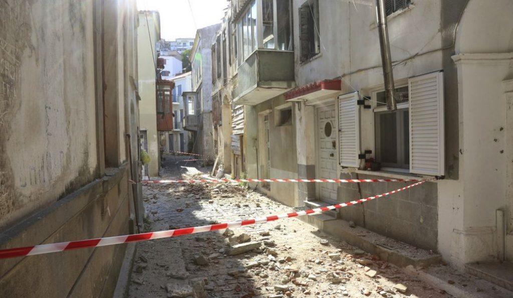 Προσωρινή στέγαση του σχολείου της Βρίσας | Pagenews.gr