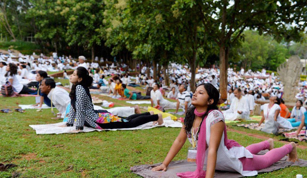 Ινδία: Εκδηλώσεις για τον εορτασμό της Παγκόσμιας Ημέρας Γιόγκα | Pagenews.gr