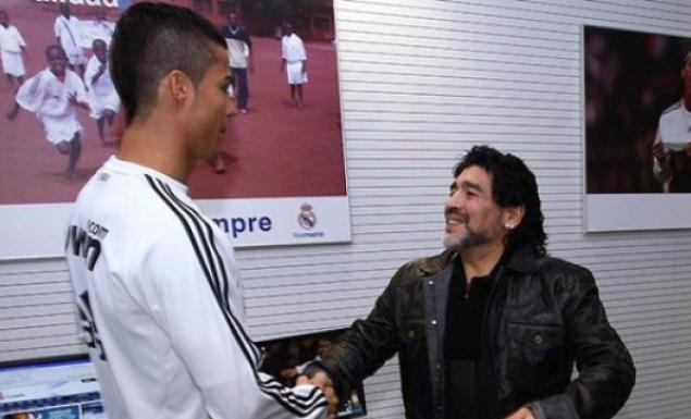Μαραντόνα: «Θα ήθελα ο Κριστιάνο να ήταν Αργεντινός» | Pagenews.gr