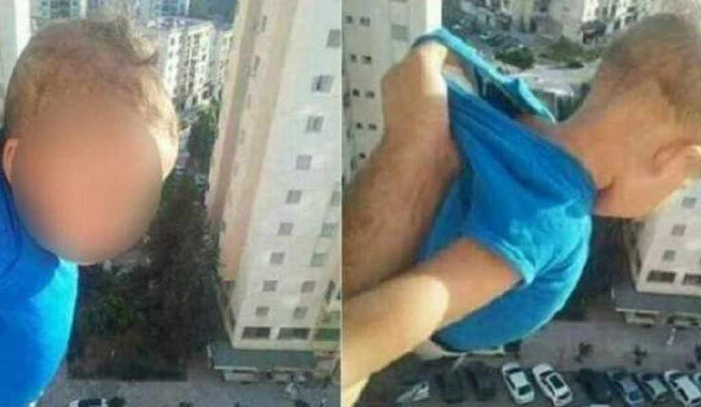 Άνδρας απείλησε να πετάξει παιδί στο κενό αν δεν πάρει 1000 likes στο facebook (vid) | Pagenews.gr