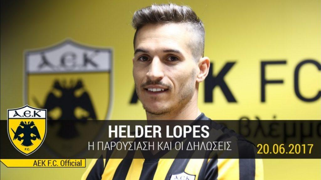 Ο Ελντερ Λόπες στο AEK TV!   Pagenews.gr