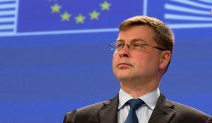 Ντομπρόβσκις: Καλά νέα για την Ελλάδα τα στοιχεία της Eurostat | Pagenews.gr
