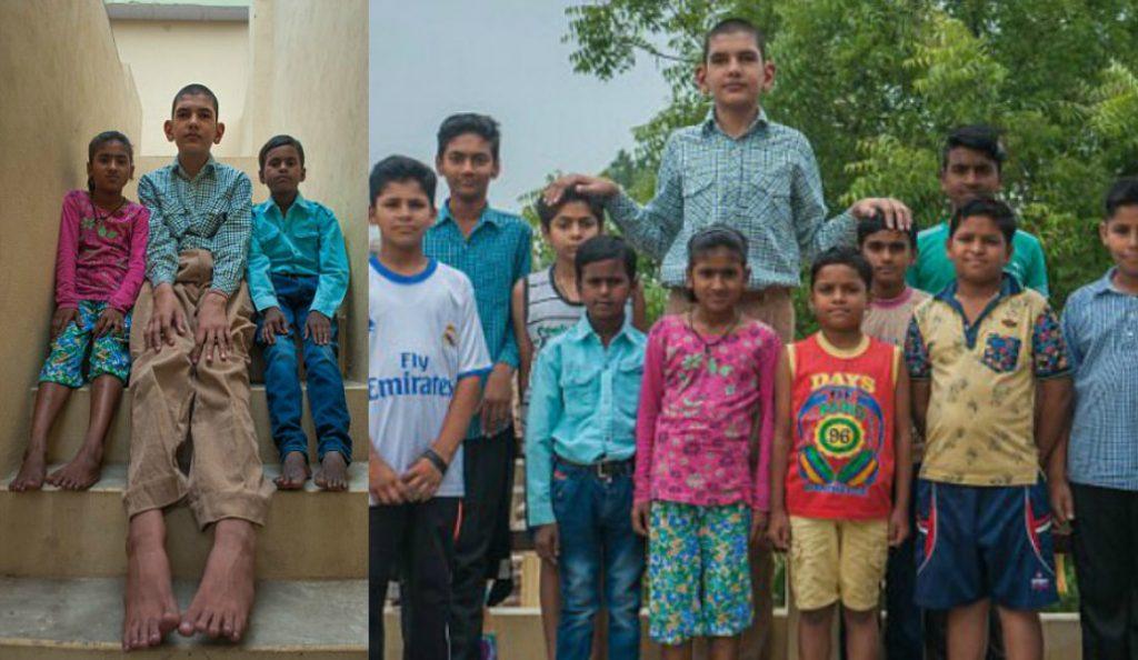 Karan Singh: Ο 8χρονος… γίγαντας – Έχει ύψος 1,98! (pics) | Pagenews.gr