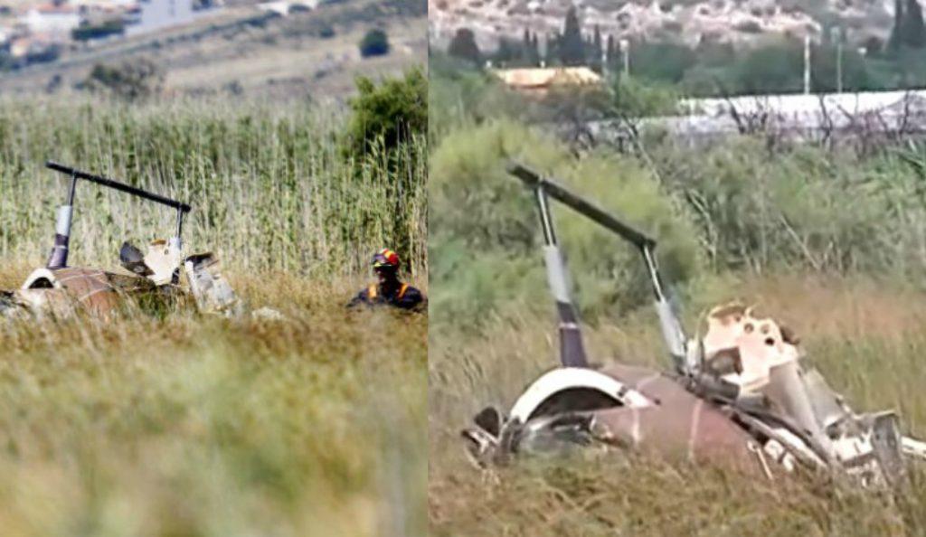 Τραγωδία στον Σχινιά: Κατέπεσε ψεκαστικό ελικόπτερο – Δύο νεκροί (pics)   Pagenews.gr