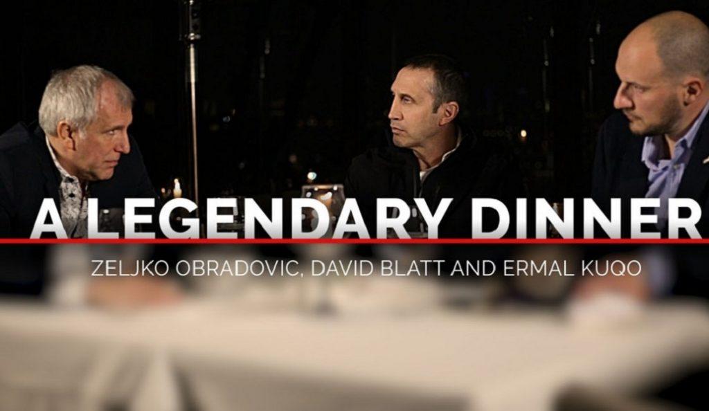 Εκπληκτικό βίντεο με το δείπνο Ομπράντοβιτς – Μπλατ (vid) | Pagenews.gr