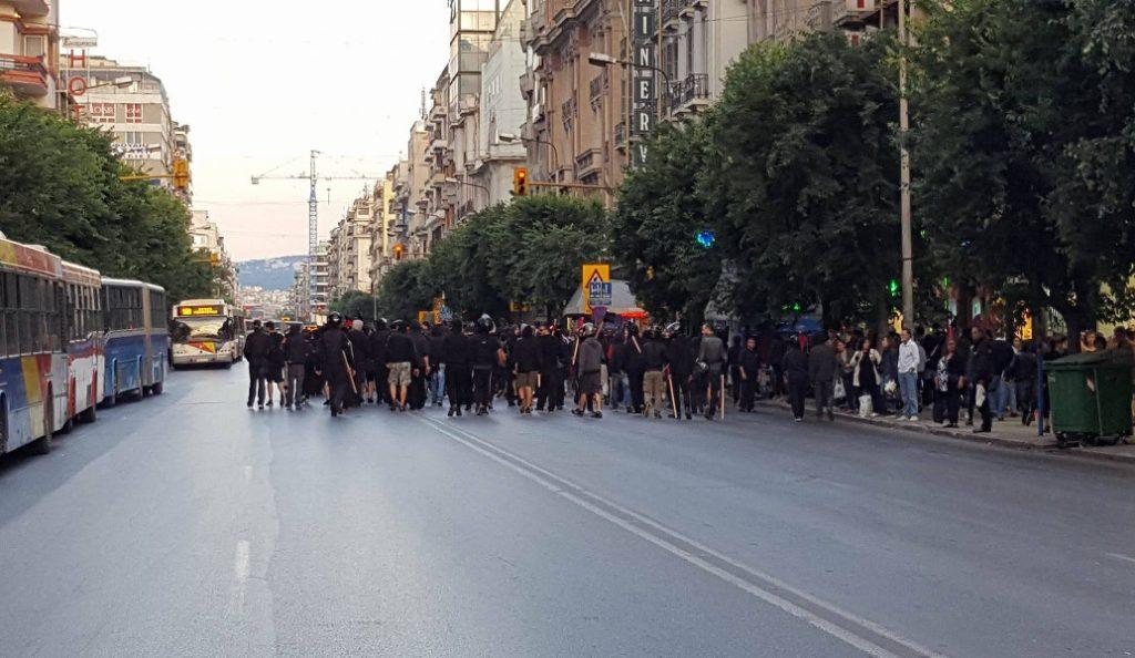 Ολοκληρώθηκε η πορεία διαμαρτυρίας αντιεξουσιαστών με αφορμή εκδήλωση της Χρυσής Αυγής | Pagenews.gr