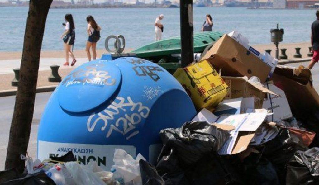 Σε οριακή κατάσταση η χώρα με σκουπίδια και ζέστη | Pagenews.gr