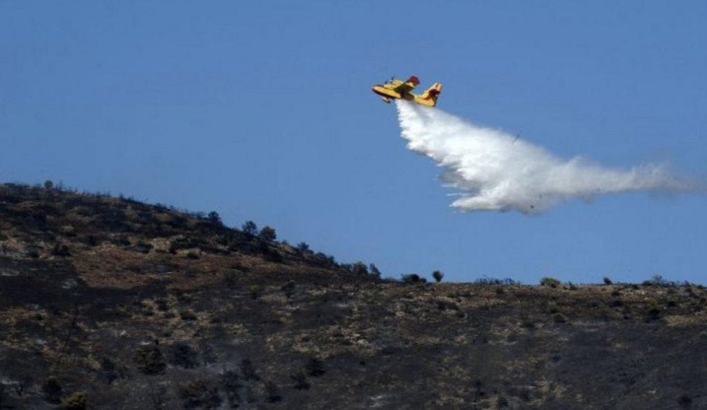 Σε ύφεση η πυρκαγιά στην περιοχή των Βολιμών Ζακύνθου   Pagenews.gr