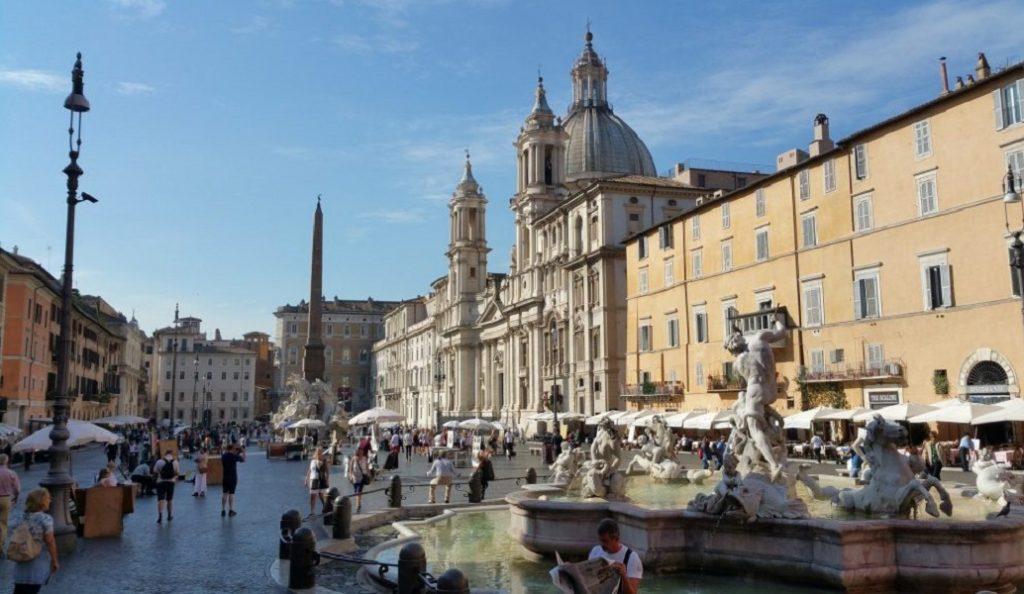 Ρώμη: Κινδυνεύει με διακοπή παροχής νερού λόγω του καύσωνα | Pagenews.gr