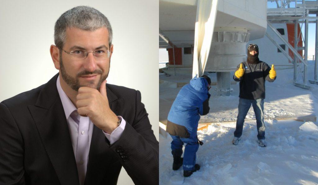 Ευάγγελος Καϊμακάμης: Ο μοναδικός Έλληνας γιατρός στην Ανταρκτική | Pagenews.gr