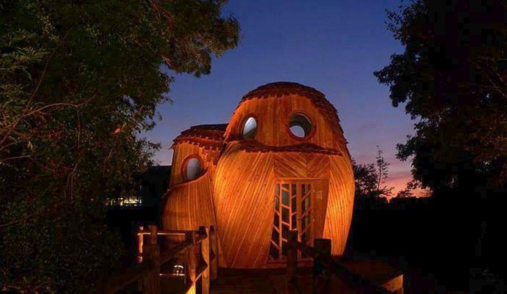 «Οι Παρατηρητές»: Οι καλύβες-κουκουβάγιες έξω απ' το Μπορντό (pics) | Pagenews.gr