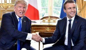Εμανουέλ Μακρόν προς Τραμπ: Να εξαιρεθεί οριστικά η Ευρώπη από τους δασμούς | Pagenews.gr