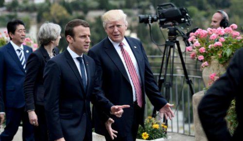 Ο Μακρόν γυρνάει την πλάτη στον Τραμπ | Pagenews.gr