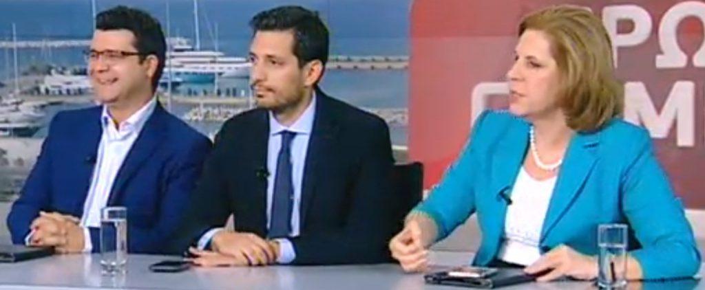 Χαμός στο τηλεοπτικό στούντιο για το αν είναι αργόμισθος ο σύζυγος της Γεννηματά | Pagenews.gr