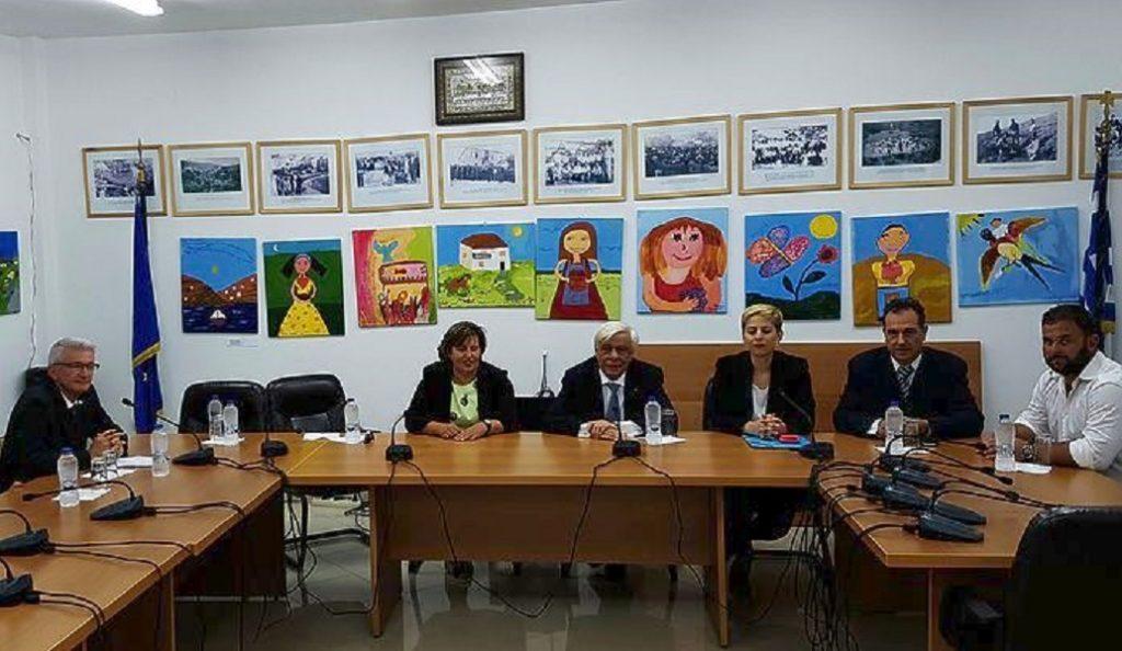 Για τα προβλήματα του Αγ. Ευστρατίου ενημερώθηκε ο ΠτΔ από την Περιφερειάρχη Β. Αιγαίου | Pagenews.gr