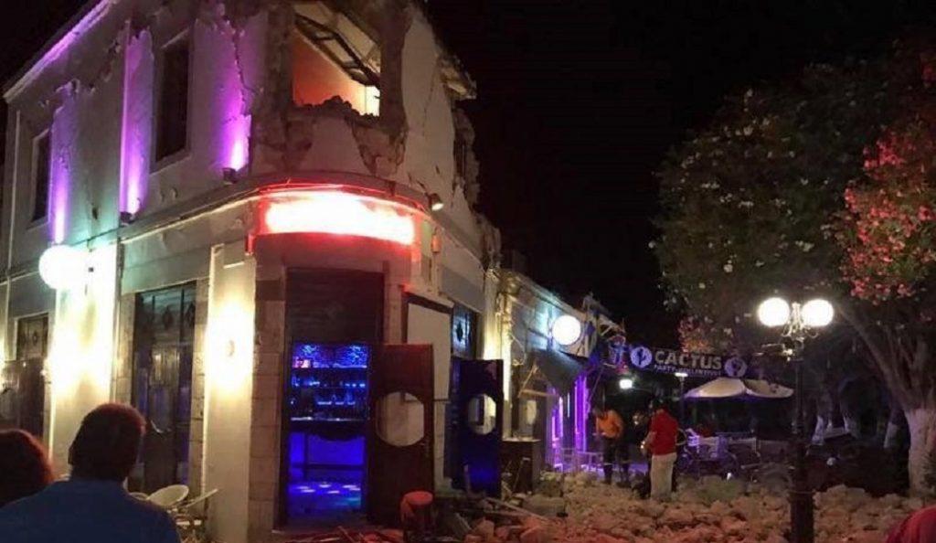Κως: Το συγκινητικό ποστάρισμα του dj στο μαγαζί που κατέρρευσε | Pagenews.gr