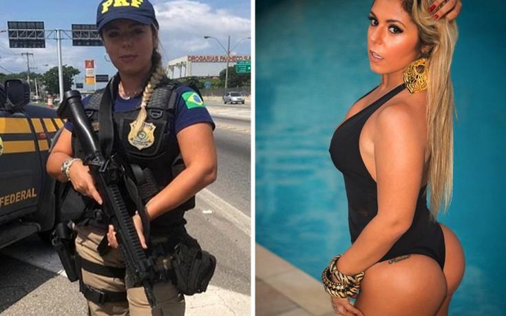 Η Βραζιλιάνα αστυνομικός που έχει τρελάνει τα social media (pics)   Pagenews.gr