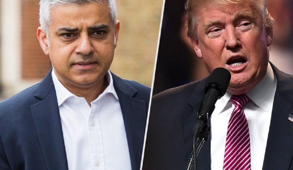 Ο Δήμαρχος Λονδίνου αποκάλεσε… 12χρονο τον Τραμπ | Pagenews.gr