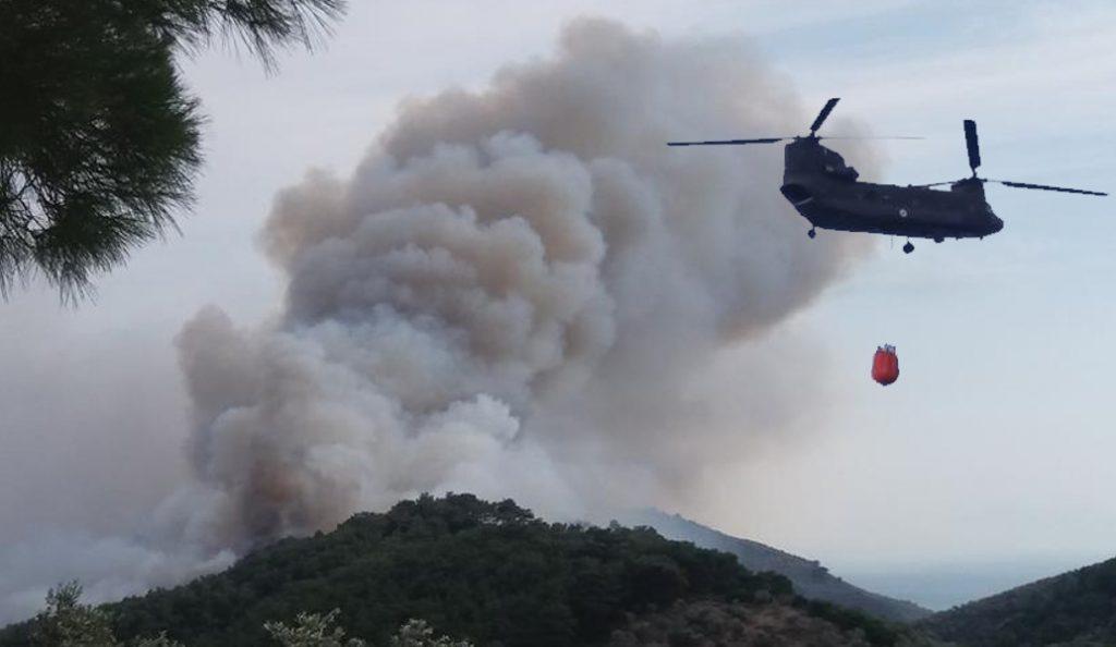Ροδόπη: Μεγάλη φωτιά ξέσπασε στο Κοπτερό | Pagenews.gr