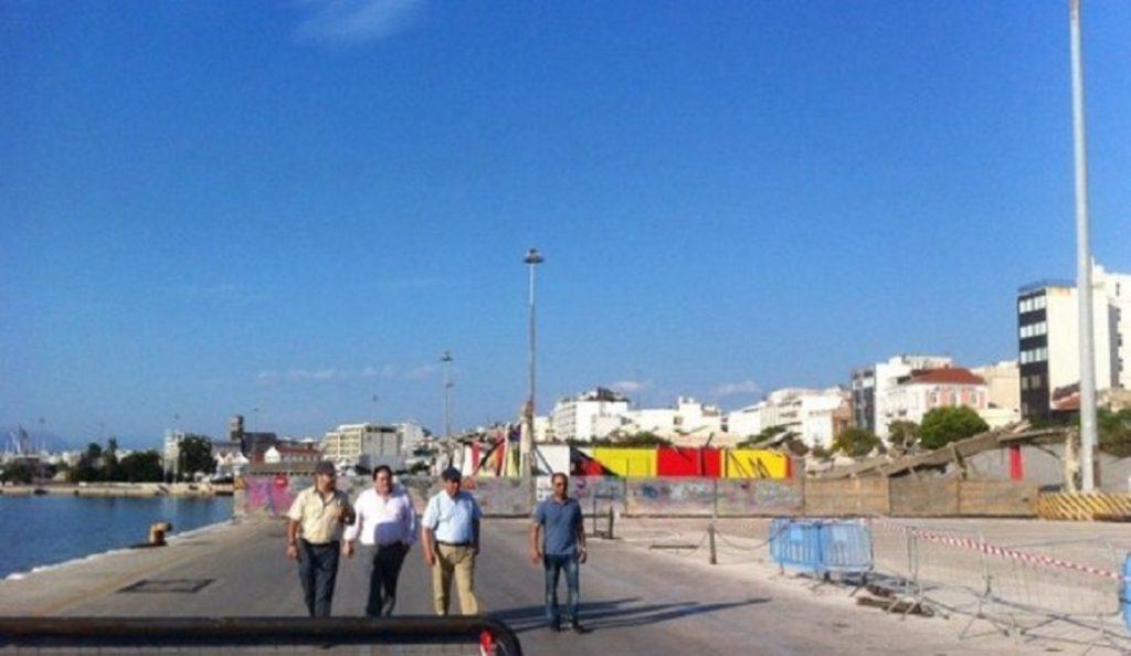 Στην Πάτρα ο γενικός γραμματέας Λιμένων για την κατάρρευση του στεγάστρου | Pagenews.gr